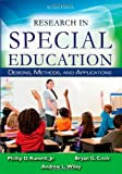 img - for Research in Special Education: Designs, Methods, and Applications book / textbook / text book