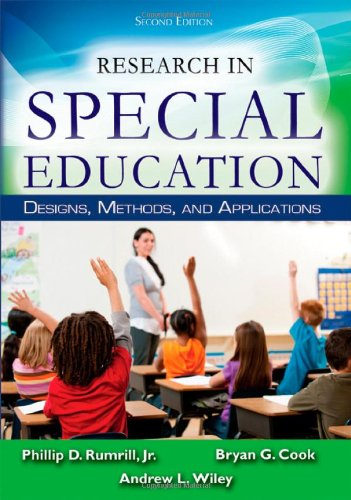 Research in Special Education: Designs, Methods, and Applications