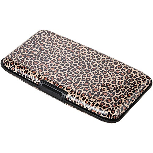 Home-X Animal Print RFID Security Wallet, Shield Yourself From Fraud in Style, (Animal Print Wallet)