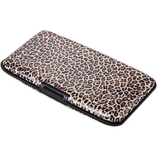 Leopard Print Purses (Home-X Animal Print RFID Security Wallet. Leopard Design)
