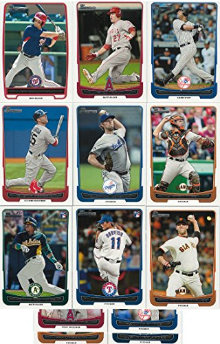Baseball Complete Mint - 2012 Bowman Baseball Series Complete Mint 330 Card Set Including the Regular 220 Card Set and the 110 Card Prospects Sets. Loaded with Stars, Rookies and Prospects Including Derek Jeter, Albert Pujols, Yu Darvish, Yoenis Cespedes, Josh Hamilton, Bryce Harper, Gerrit Cole and More!