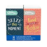Kleenex Trusted Care Facial Tissues, 8 On-The-Go Travel Packs, 10 Tissues per Pack (80 Tissues Total)