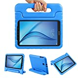 Color Our Life Samsung Galaxy Tab E 9.6 Kiddie Case-Shock Proof Light Weight Convertible Handle Stand Cover for Samsung Galaxy Tab E 9.6 Inch Tablet, Blue