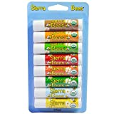 Organic Lip Balms Combo Pack, 8 Pack.15 oz (4.25 g) Each