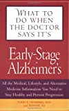Early-Stage Alzheimer's, Winnie Yu and Todd E. Feinberg, 1592331610