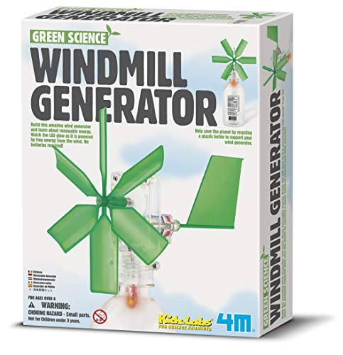 4M Green Science Windmill Generator Kit (Packaging May Vary)