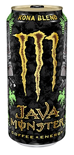 Java Monster  Kona Blend  15 Ounce  Pack Of 12