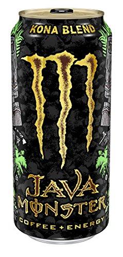 - Java Monster, Kona Blend, 15 Ounce (Pack of 12)