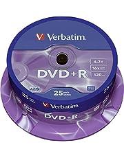 Verbatim DVD onbewerkt Spindel. 25 Stuk