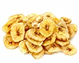 Fuzzy Ducks Gourmet Confections Dried Banana Chips (2/1 Pound Bag) Bulk Snacks Dried Fruit Potassium Rich Foods