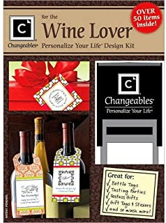 product image for Three Designing Women, Wine Lover Stamp Design Kit