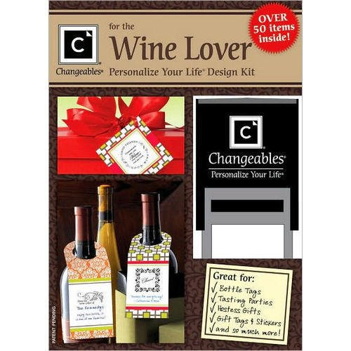 Three Designing Women Wine Lover Stamp Design Kit