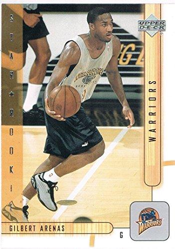 2001-02 Upper Deck #202 Gilbert Arenas RC Rookie
