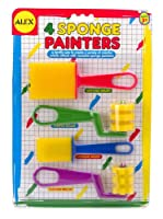 ALEX Toys Artist Studio 4 Sponge Painters