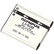 Olympus LI-50B Rechargeable Battery (Silver)