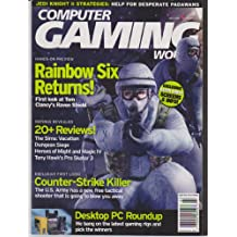 Computer Gaming World (Rainbox Six Returns!, The Sims: Vacation, Dungeon Siege, Heroes of Might and Magic IV, Tony Hawk's Pro Skater 3, Desktop PC Roundup., Issue 216, July 2002)