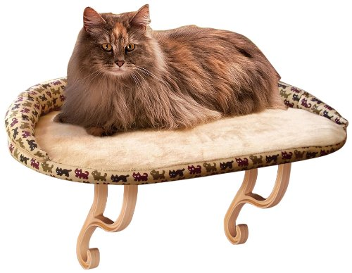 K&H Manufacturing Kitty Sill Deluxe with Bolster