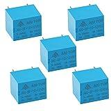 AIU TOP PCB 12VDC SPDT 5 Pins Mini Power Relay