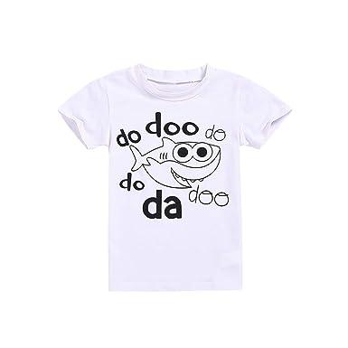 fcb5a5d2f5aa Amazon.com  ❤ Mealeaf ❤ Children s Kids Baby Short Sleeve ...