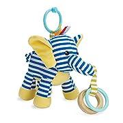 Manhattan Toy Savanna Elephant Activity Rattle & Teether