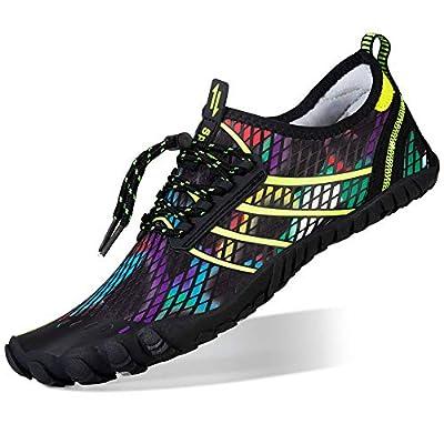 FEIFAN Mens Womens Water Shoes Quick Dry Barefoot Shoes for Swim Diving Surf Aqua Sports Pool Beach Walking Yoga