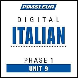 Italian Phase 1, Unit 09