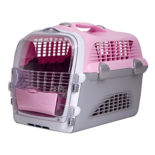 Rolf C Hagen Catit Cat Cabrio Carrier (One Size) (Pink/Gray/White)