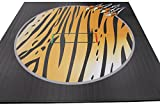 Wrestling Mat - Liteweight - DigiPrint, 10'x10' (Two 5'x10' Pieces), Bengal Pattern with Claw, Tape Connection