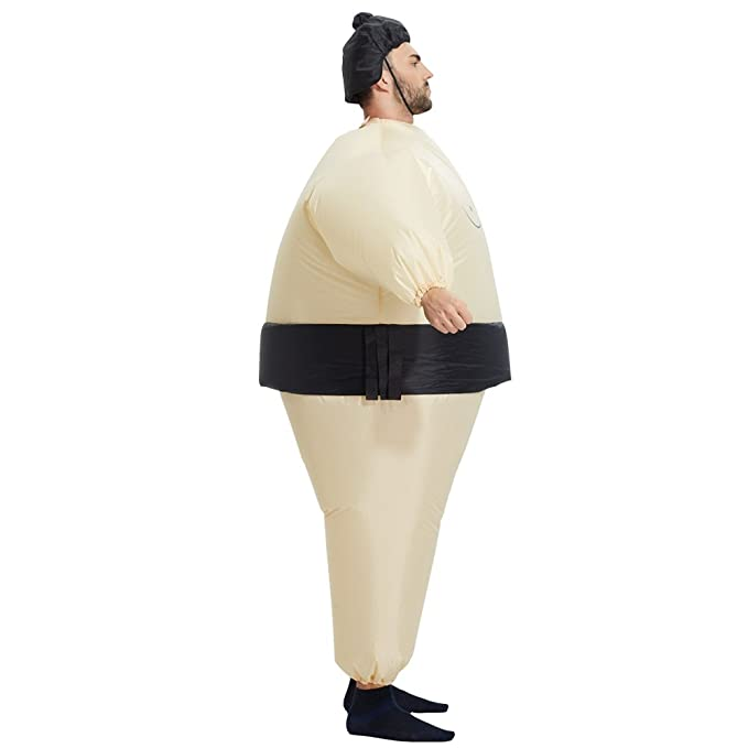 Amazon.com: Disfraz inflable de luchador de sumo Toloco ...