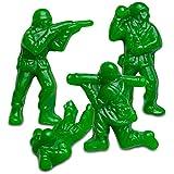 Albanese World's Best Green Apple Green Gummi Army Guys in Bulk Standup Pouch (1 Pound)