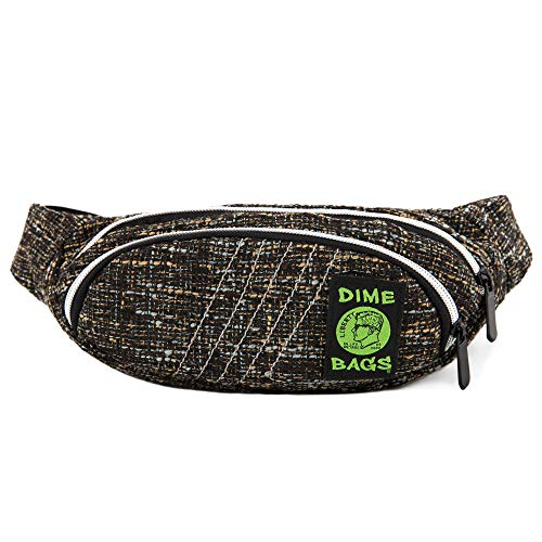 Fanny Pack - Hemp Hip Pack w/Spacious Storage and Adjustable Strap -