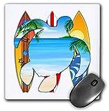 Best 3dRose Turtle Beach Mouse Pads - 3dRose Macdonald Creative Studios – Surfing - Turtle Review