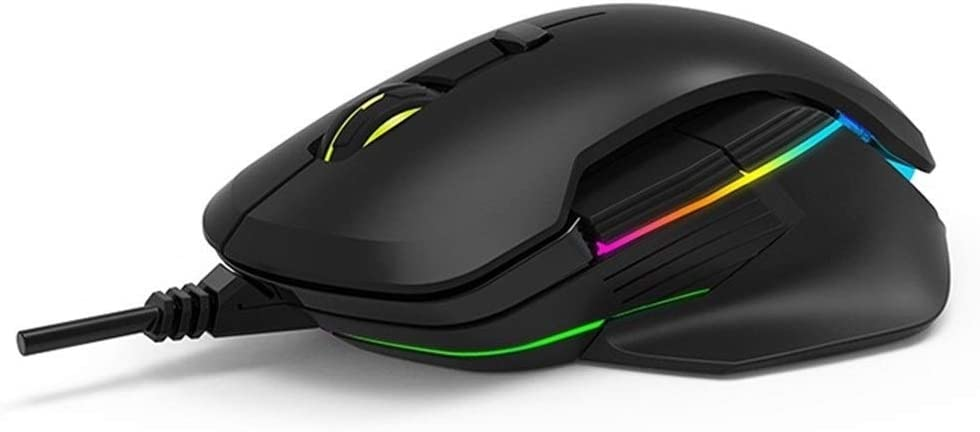 JS-Bonita-28 Delux M627 Wired//Wireless Dual Mode Gaming Mouse Color : Black, Size : 3389 Engine