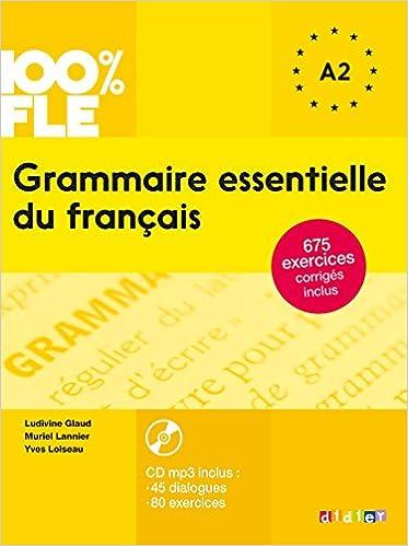 Grammaire Essentielle Du Francais A2 Livre Cd Amazon Ca