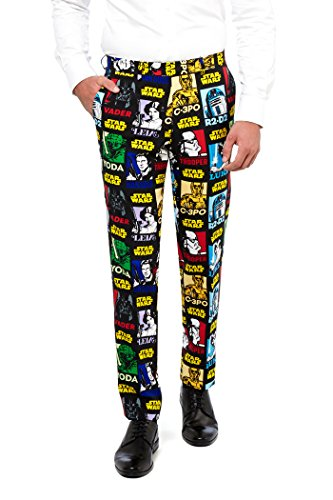 [Men's Classic Star Wars Suit by OppoSuits - Individual Jacket, Pants, or Tie] (Morph Suit Costumes Ideas)