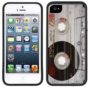 New Style Cassette Tape Photo Retro Handmade iPhone 5 5S Black Case