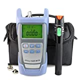 Fiber Optic Cable Tester FC SC & 2.5mm 30mV Visual Fault Locator with Sc,Fc Connector and Shoulder ToolKit (Color: 30mW)