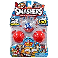 Zuru Smashers Collectible SERIES 1 SPORTS Themed 3-Pack-Surprise Figure-ASSORTMENT