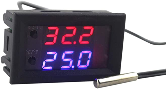 12V Digital Mini Microcomputer Regulator Adjustable Temperature Controller