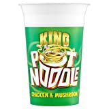 Pot Noodle King Pot Noodles Chicken & Mushroom Flavour (114g) - Pack of 2