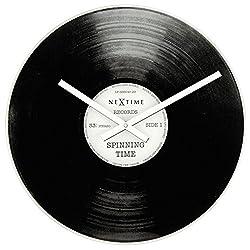 vinyl record retro wall clock mute brief desk clock coffee shop/bar