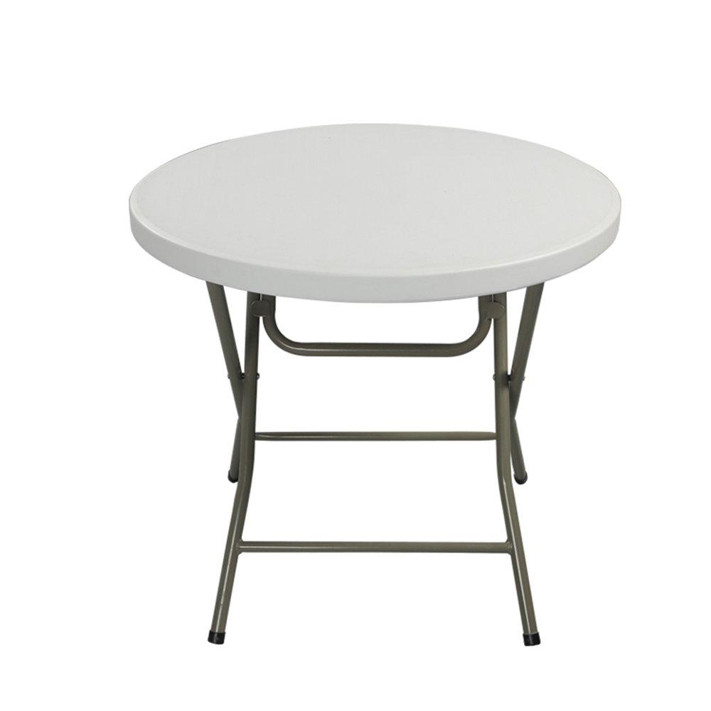 HAKN 折りたたみダイニングテーブルラウンドダイニングテーブル簡単なディナーテーブル4色80 * 74センチメートル ( 色 : A ) B078N78R1Y A A