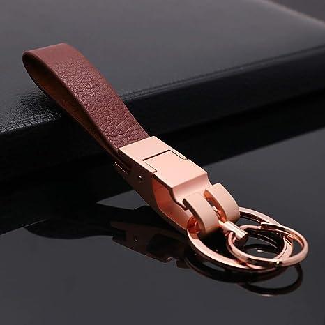 Amazon.com: Mehr Platinum Series - Llavero de lujo, simple ...
