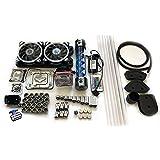 Bykski 240 Computer Water Cooling Rigid Tubing System Complete Kit (For AMD, Blue T-virus Reservoir)
