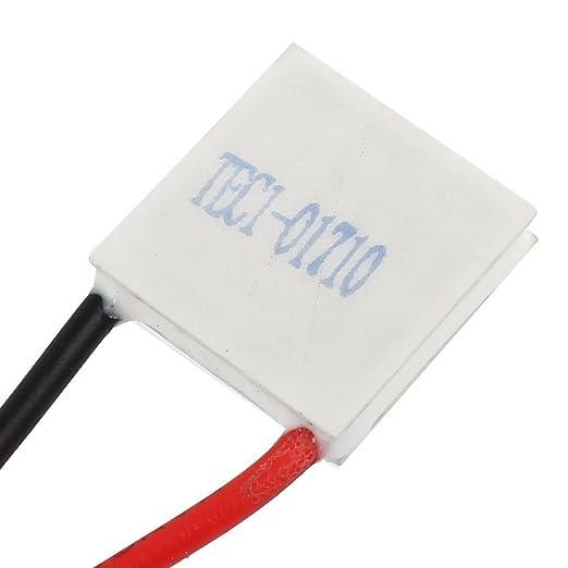 Amazon.com: DealMux TEC1-01710 2V 10A termoeléctricos módulo refrigerador refrigerar Placa Peltier: Electronics