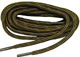 GREATLACES Rust w/Black Kevlar (R) proTOUGH(TM) Boot Shoelaces 2 Pair Pack (78 inch 196 cm)