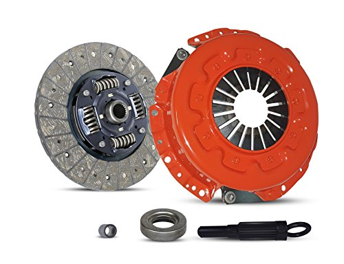 Clutch Kit Works With Nissan 300Zx Base Convertible Coupe 2-Door 1990-1996 3.0L V6 GAS DOHC Naturally Aspirated (5 Speed; All model except Turbo; Stage 1)