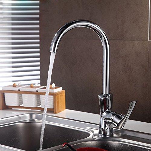 distribuzione globale WasserhahnTap Lavello rubinetto completo completo completo in rame maniglia singola foro singolo caldo e freddo cucina lavello rubinetto  vendita online