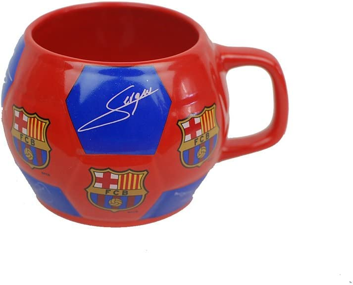 Taza FC Barcelona balon firmas ceramica: Amazon.es: Juguetes y juegos