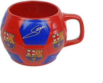 Taza FC Barcelona balon firmas ceramica: Amazon.es: Juguetes y ...